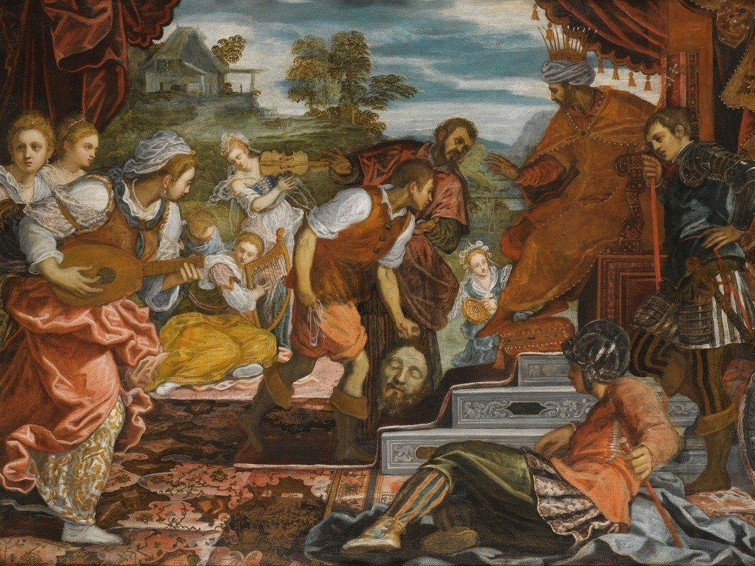 Domenico Tintoretto - The Triumph Of David