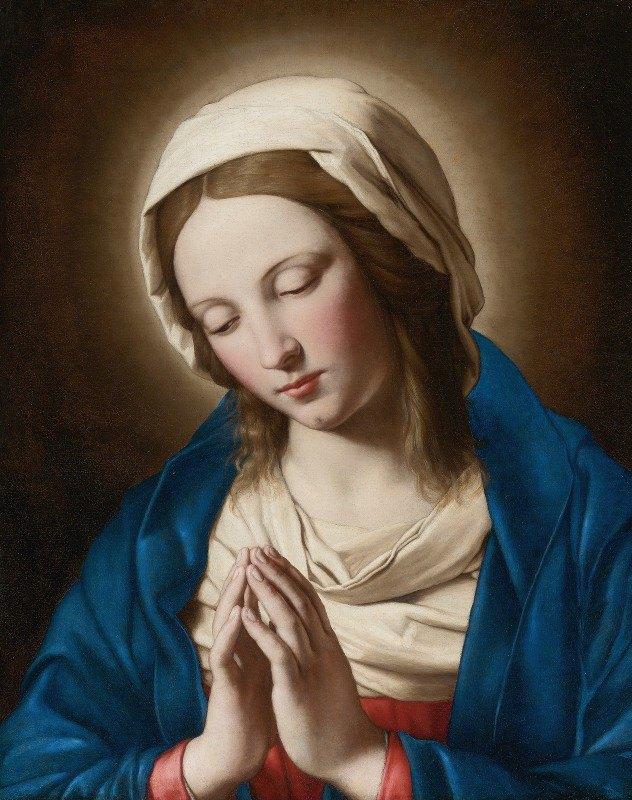 Giovanni Battista Salvi da Sassoferrato - Madonna At Prayer