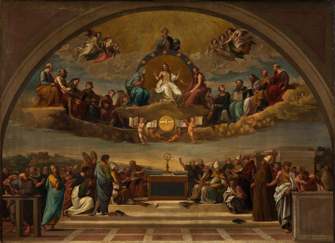 Giuseppe Cades - Disputation Over The Most Holy Sacrament