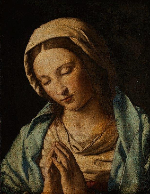 Giovanni Battista Salvi da Sassoferrato - Praying Virgin