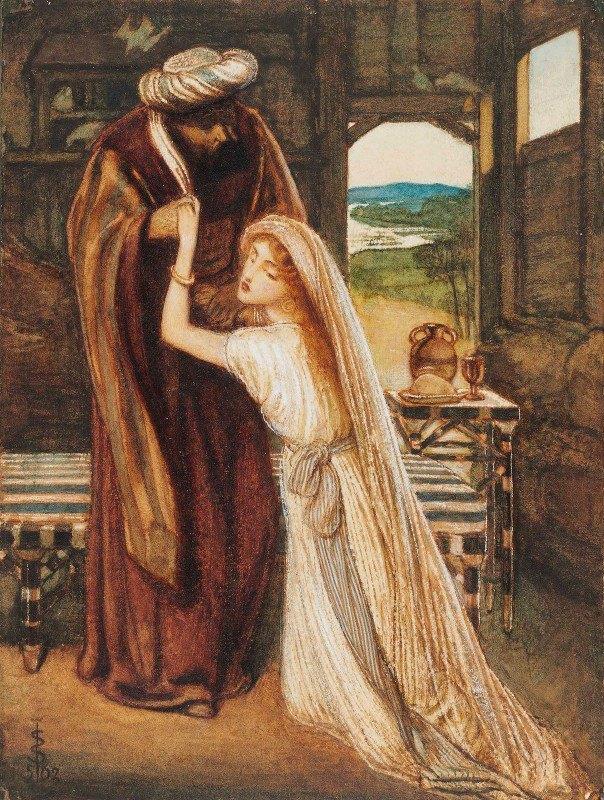 Simeon Solomon - Ruth And Boaz