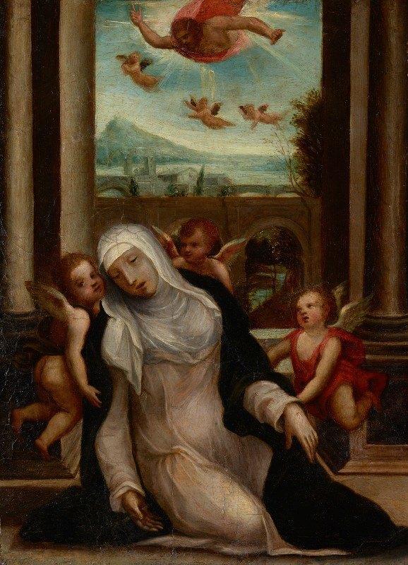 Sodoma - The Ecstasy of Saint Catherine ofSiena