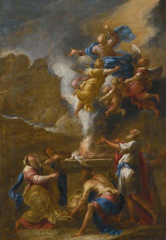 Valerio Castello - The Sacrifice Of Noah