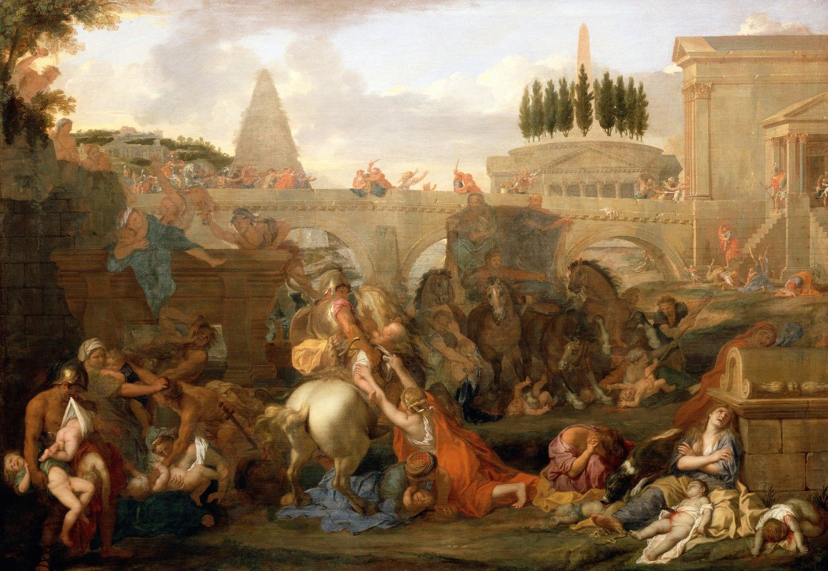 Charles Le Brun - The Massacre Of The Innocents