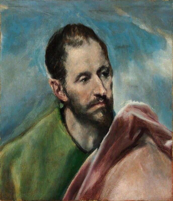 El Greco (Domenikos Theotokopoulos) - Saint James The Younger