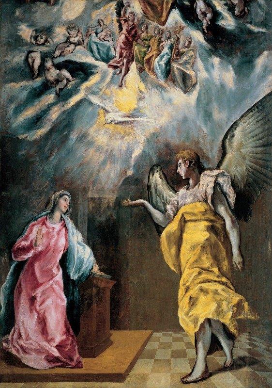 El Greco (Domenikos Theotokopoulos) - The Annunciation