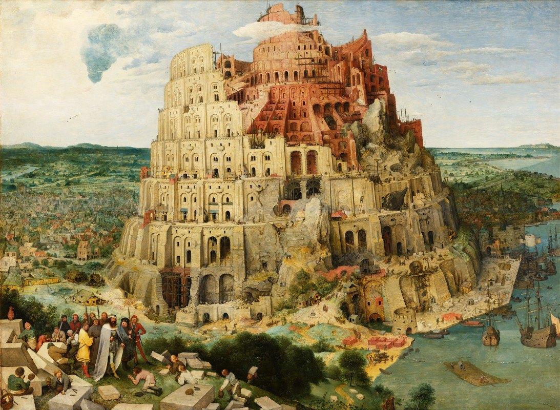 Pieter Bruegel The Elder - The Tower Of Babel (Vienna)