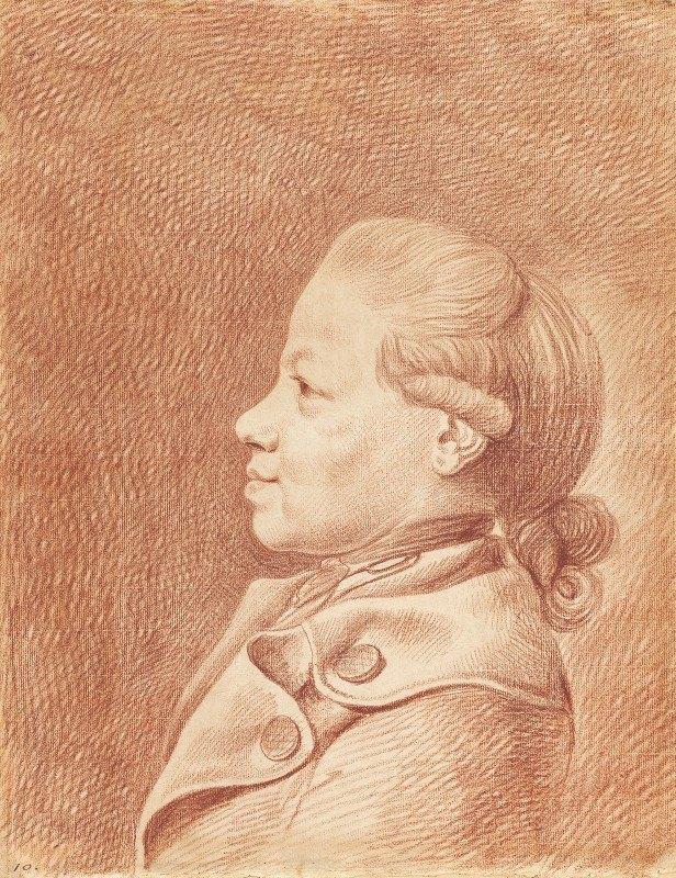 Daniel Nikolaus Chodowiecki - The Artist's Son, Heinrich Isaak Chodowiecki