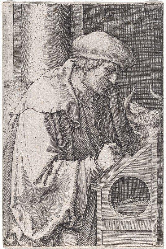 Lucas Van Leyden - Saint Luke