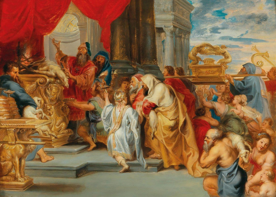 Workshop of Peter Paul Rubens - The Sacrifice of the Old Covenant