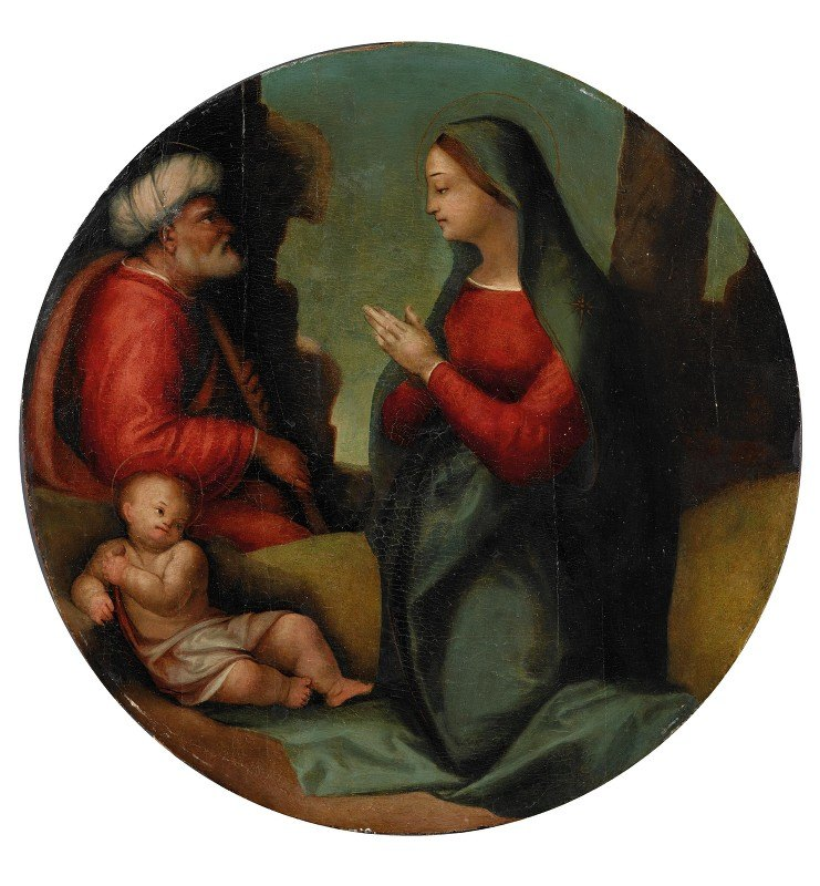Tuscan School - The Holy Family