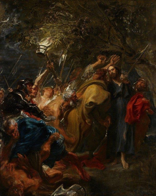 Anthony van Dyck - The Betrayal of Christ