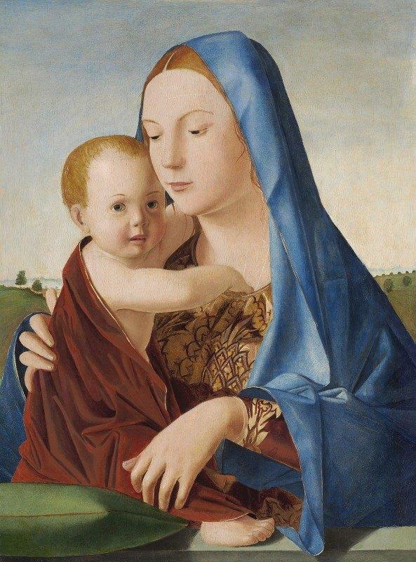 Antonello da Messina - Madonna and Child