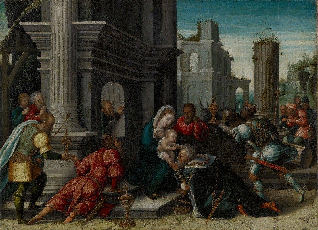 Bernard van Orley - The Adoration of theMagi