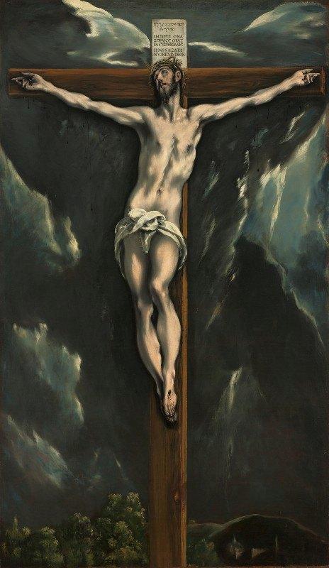 El Greco (Domenikos Theotokopoulos) - Christ on the Cross