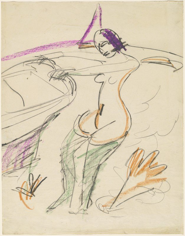 Ernst Ludwig Kirchner - Bather