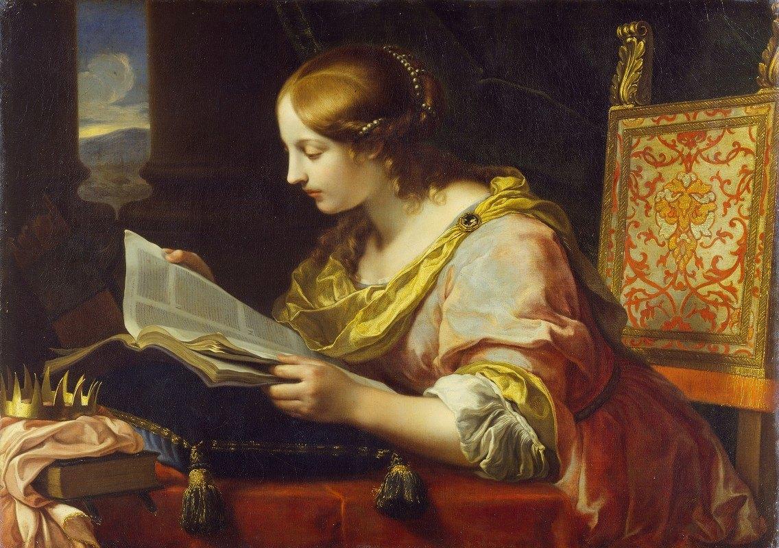 Onorio Marinari - Saint Catherine of Alexandria