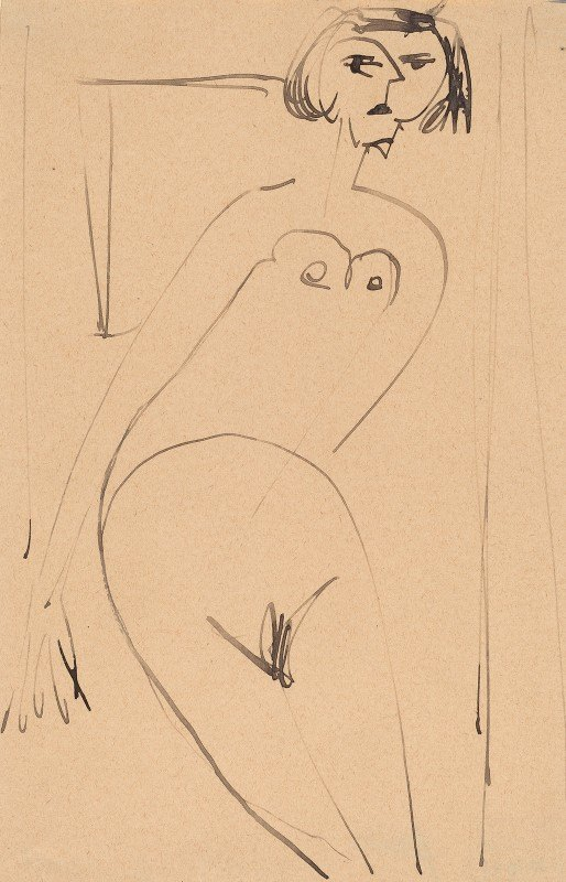 Ernst Ludwig Kirchner - Nude