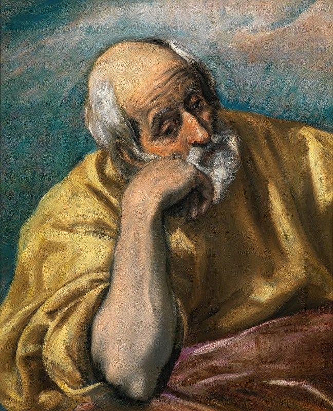 El Greco (Domenikos Theotokopoulos) - Saint Joseph