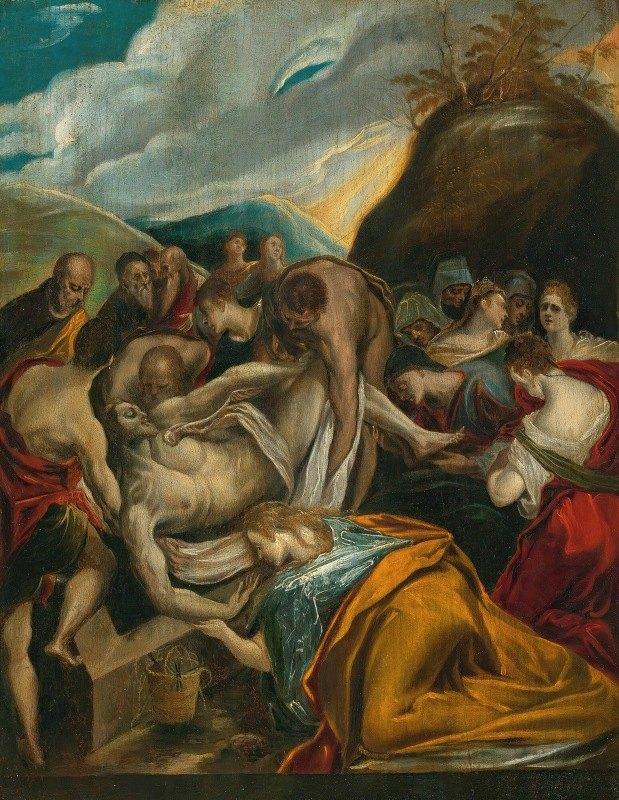 El Greco (Domenikos Theotokopoulos) - The Entombment Of Christ