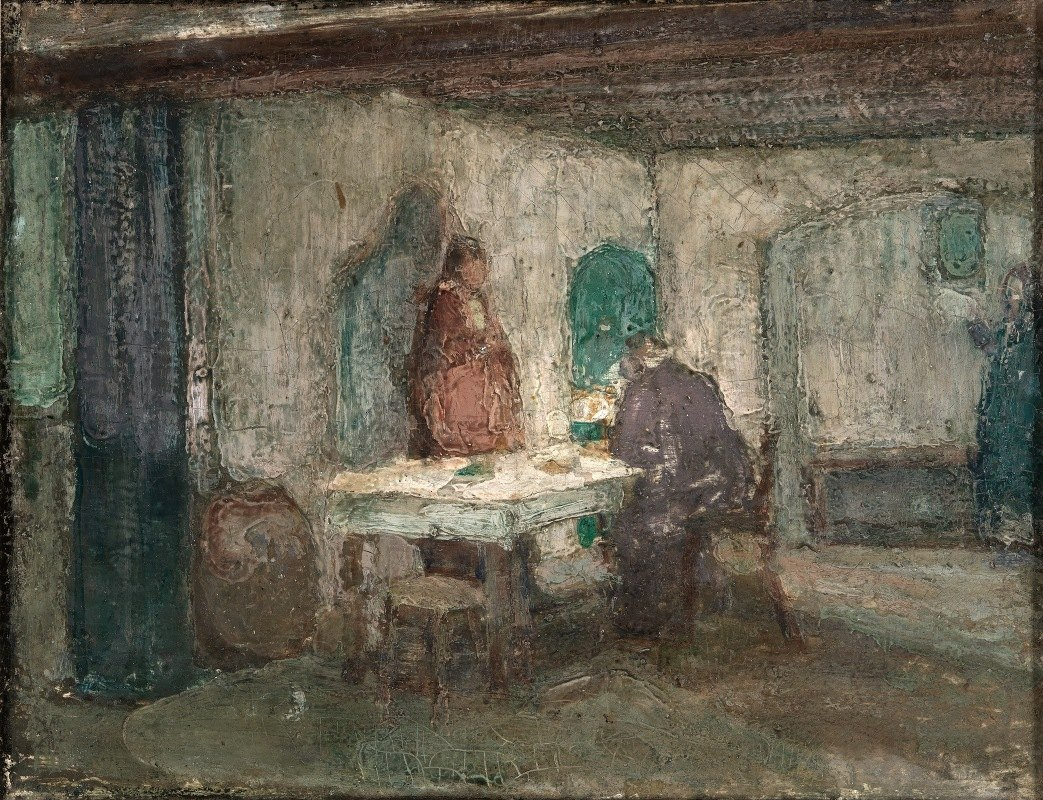 Henry Ossawa Tanner - And He Disappeared out of Their Sight