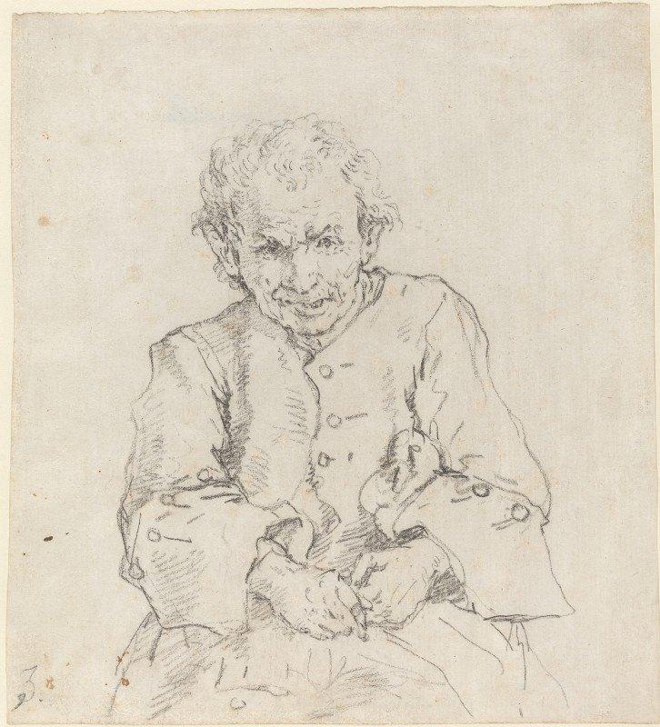 Francesco Zuccarelli - Seated Peasant