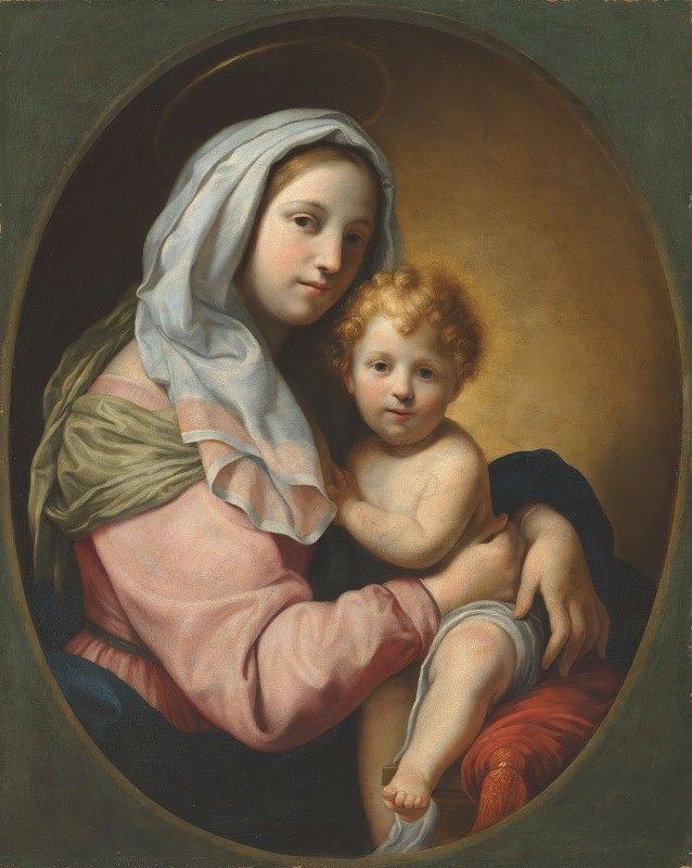 Onorio Marinari - Virgin and Child