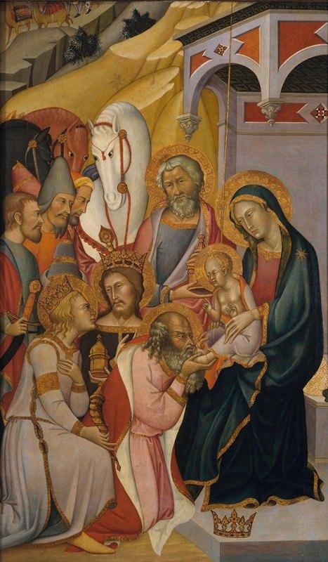 Bartolo di Fredi - The Adoration of the Magi