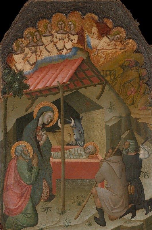 Bartolo di Fredi - The Adoration of the Shepherds