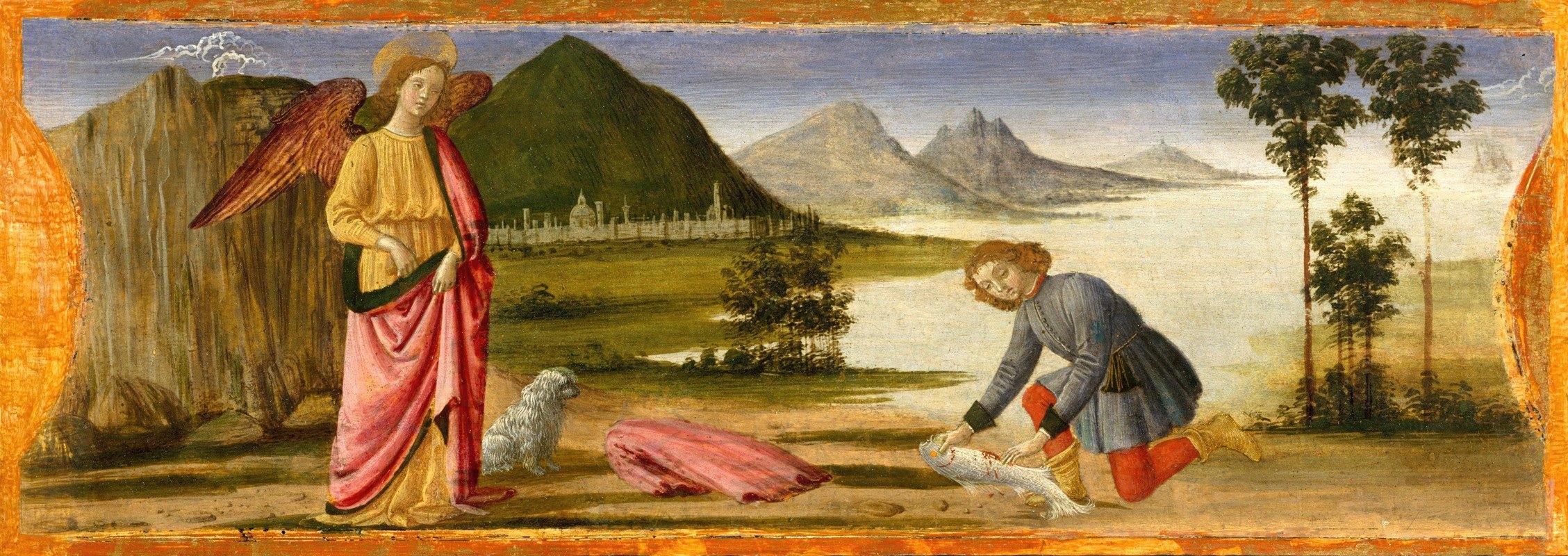 Davide Ghirlandaio - Tobias and the Angel