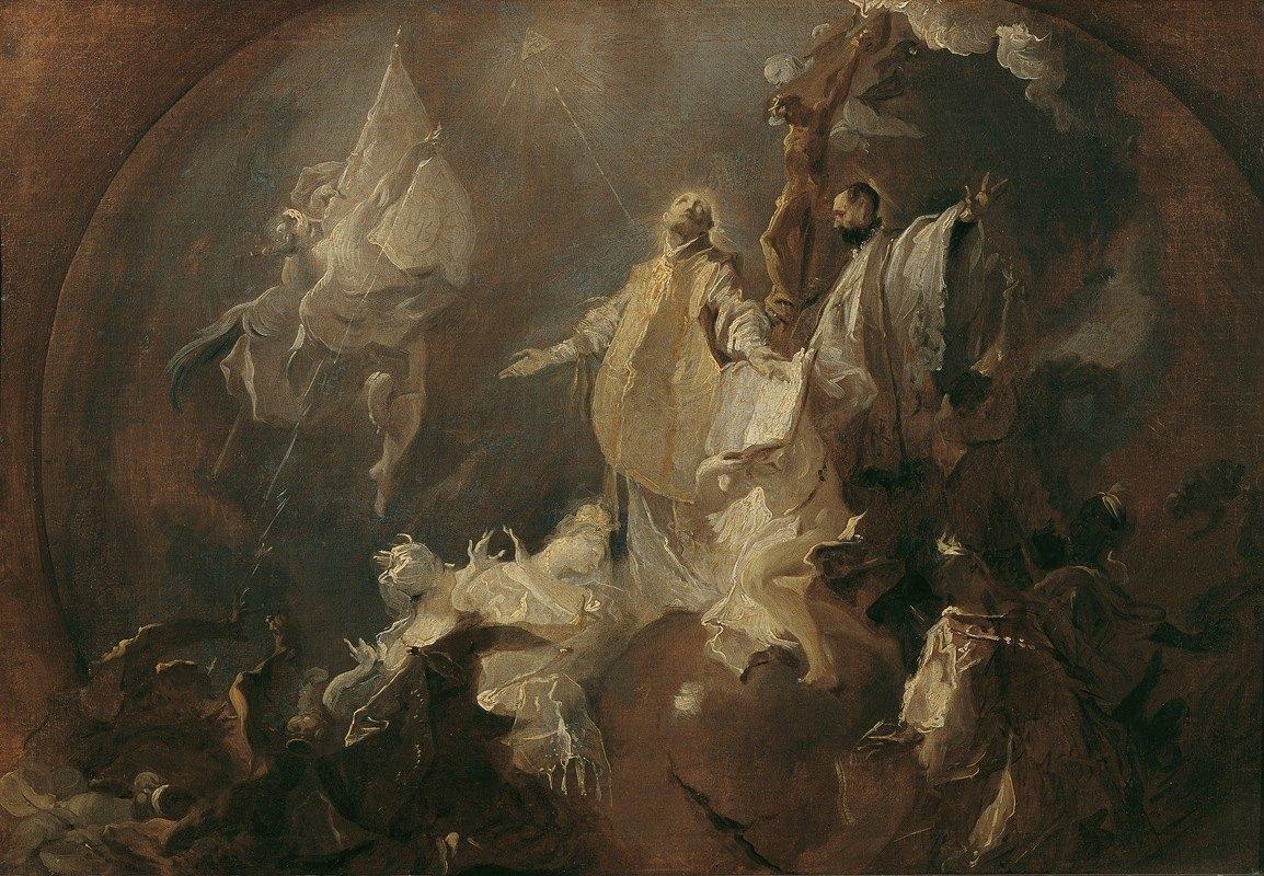 Franz Anton Maulbertsch - Allegorie auf die Weltmission des Jesuitenordens