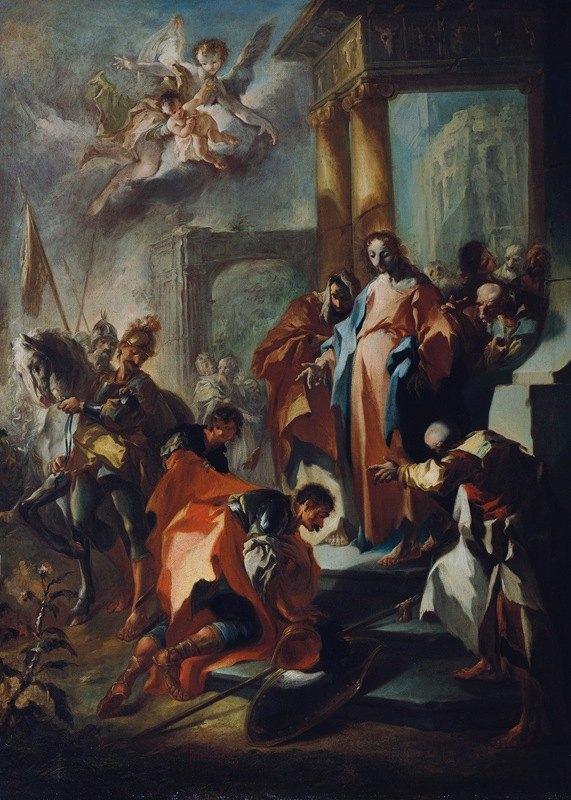 Franz Anton Maulbertsch - Christus und der Hauptmann von Kapernaum