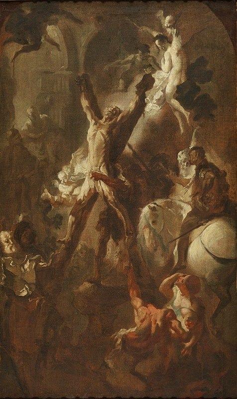 Franz Anton Maulbertsch - Das Martyrium des heiligen Andreas