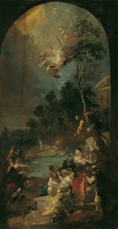Franz Anton Maulbertsch - Das Martyrium des heiligen Quirinus