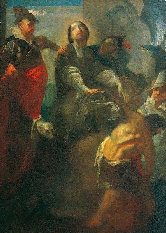 Franz Anton Maulbertsch - Die Gefangennahme des heiligen Johannes von Nepomuk