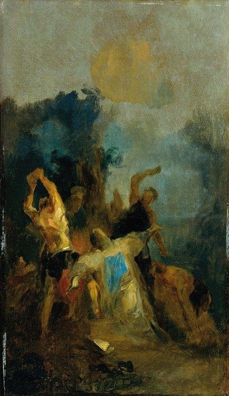 Franz Anton Maulbertsch - Die Steinigung des heiligen Stephanus