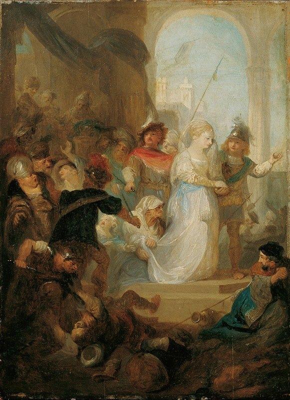 Franz Anton Maulbertsch - Esther und Hatach