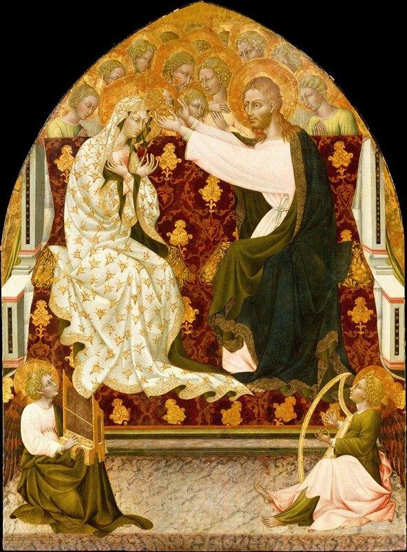 Giovanni di Paolo - Coronation of the Virgin