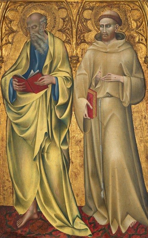 Giovanni di Paolo - Saints Matthew and Francis