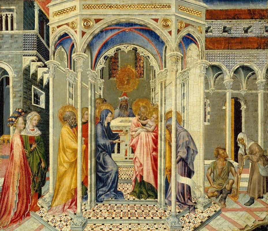 Giovanni di Paolo - The Presentation of Christ in the Temple