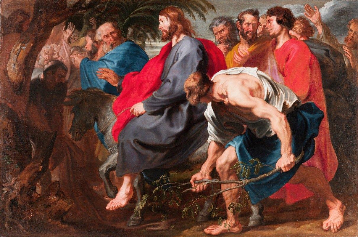 Anthony van Dyck - The Entry of Christ into Jerusalem