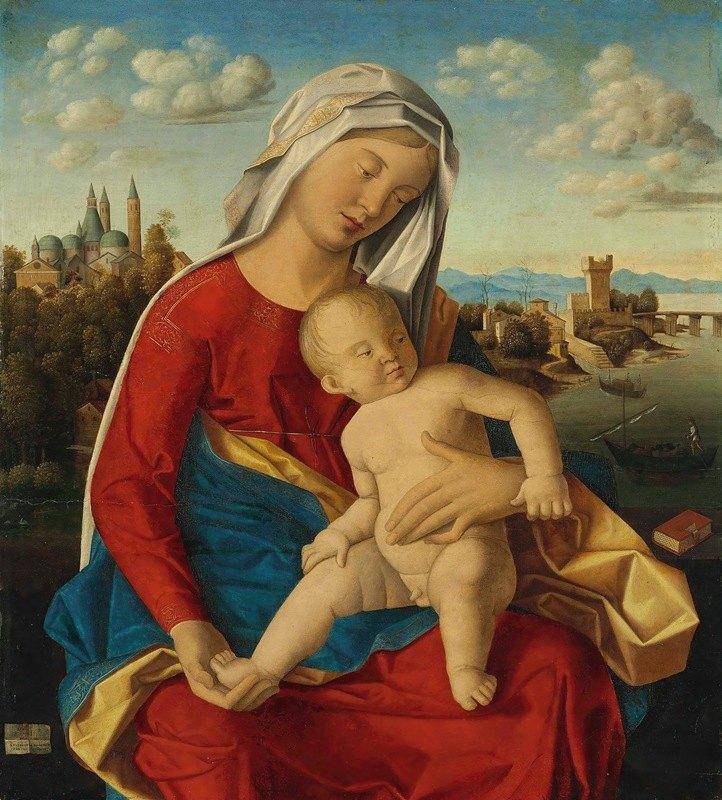 Bartolomeo Veneto - Madonna and Child