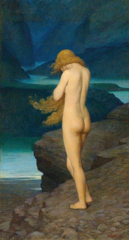 Herbert Gustave Schmalz - Eve in exile