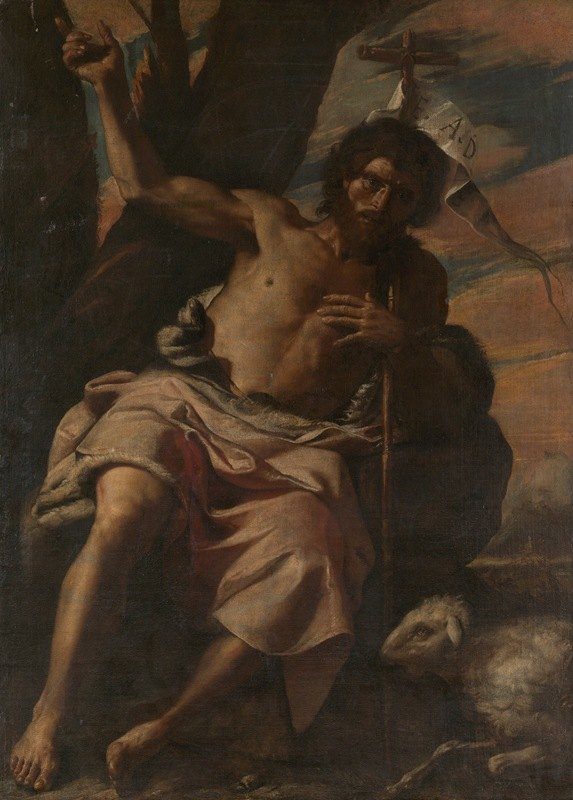 Mattia Preti - Saint John the Baptist Preaching