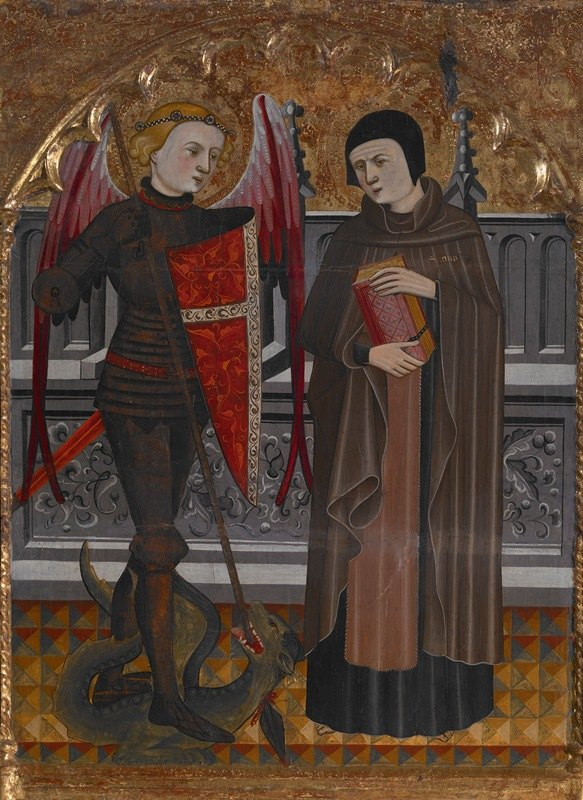 Pere Vall - St. Michael and St. Amador