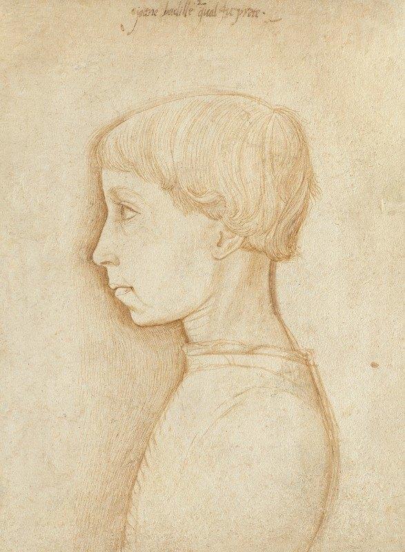 Giovanni Badile - Portrait of a Boy in Profile