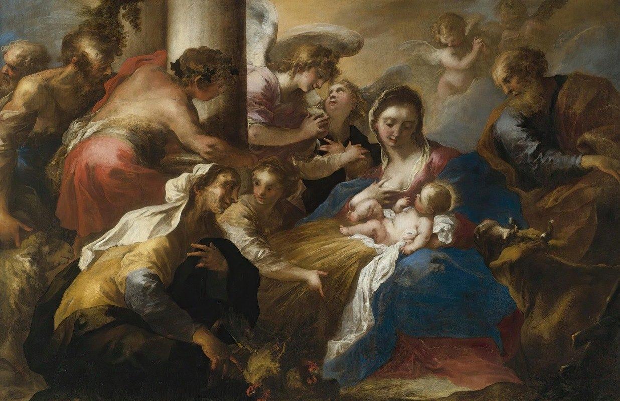 Valerio Castello - Adoration Of The Shepherds