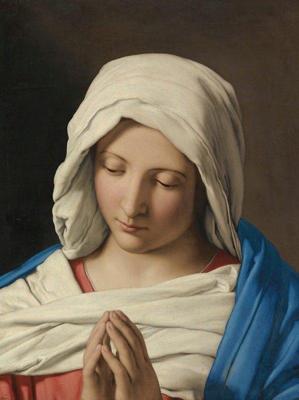 Giovanni Battista Salvi da Sassoferrato - The Madonna In Prayer