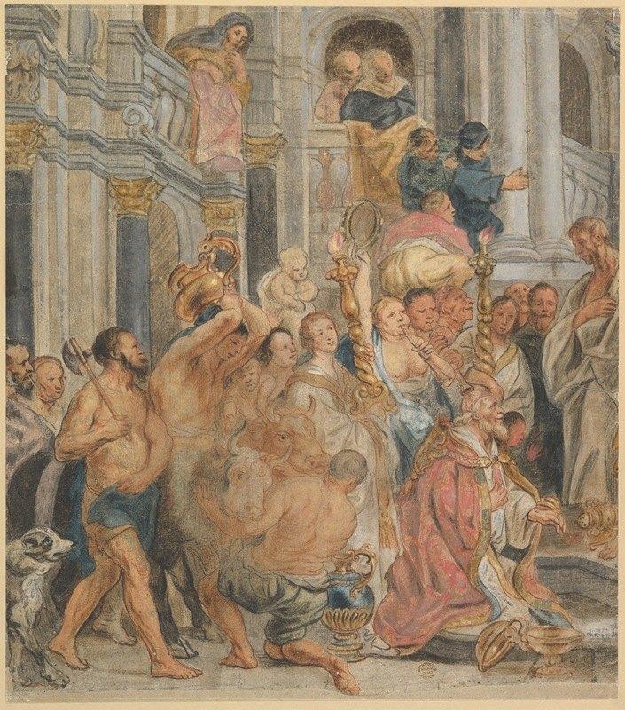 Jacob Jordaens - Saint Paul at Lystra