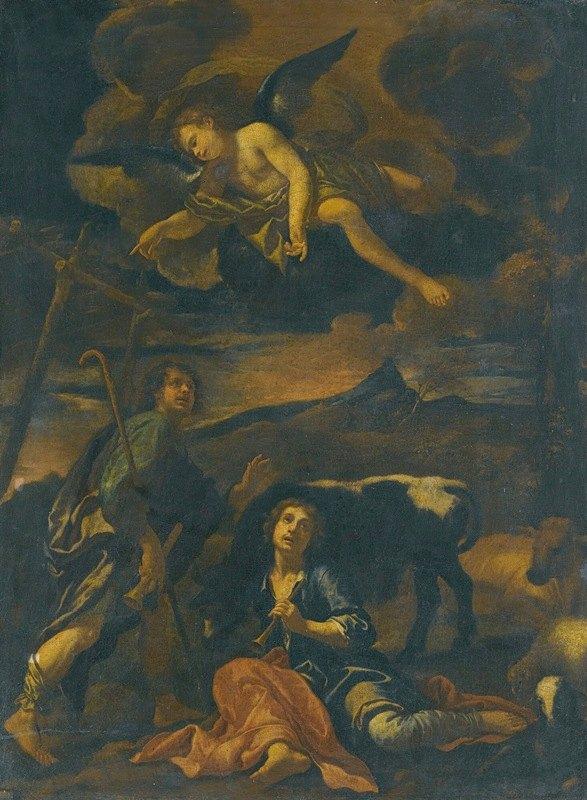 Onorio Marinari - The Annunciation To The Shepherds